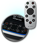 <center><b>Control Meetings with Base Console or Dockable Remote(NFC) Pairing</b></center><br></br>Easily operate camera pan/tilt/zoom, volume up/down, answer/hang-up2 mute and other functions during call.