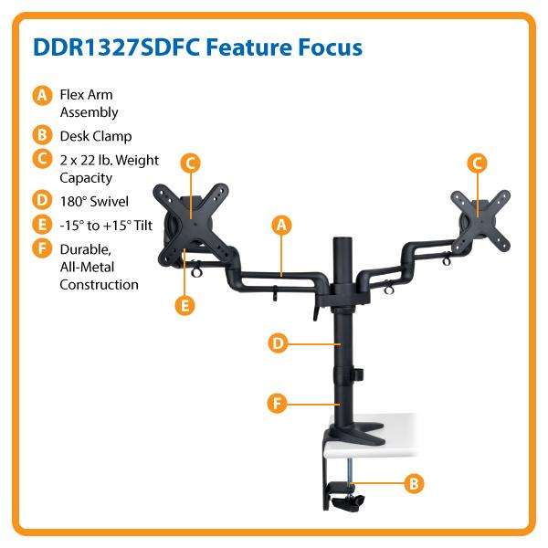 Durable Construction and Adjustable Clamping Assembly