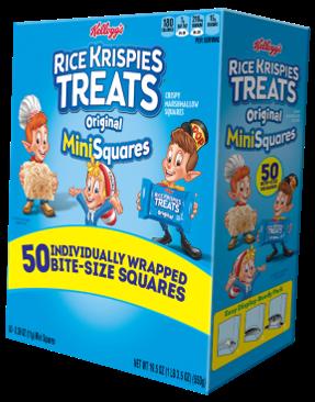 Kellogg's® Rice Krispies Treats® Mini Squares