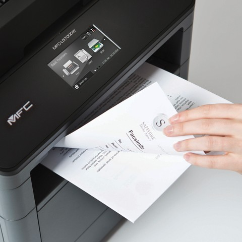 Brother MFC-L5700DW Laser Multifunction Printer - Monochrome
