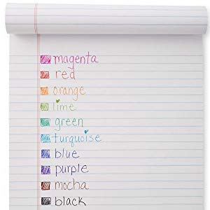 <b> Available in 10 Bright Shades </b></br> With a rainbow of 10 vivid colors, choose something bright for making notes that stand out or choose black for completing work and filling out forms. The translucent color-tinted body and rubberized grip match the shade of the ink inside.