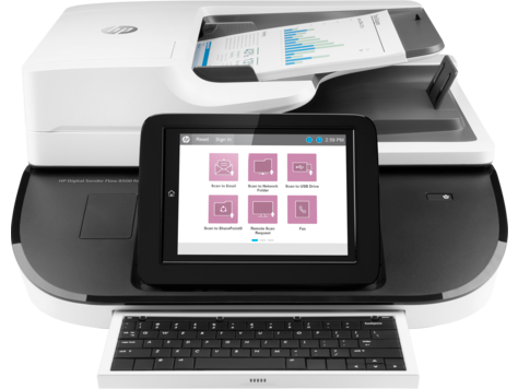 HP Digital Sender Flow 8500 fn2 Document Capture Workstation