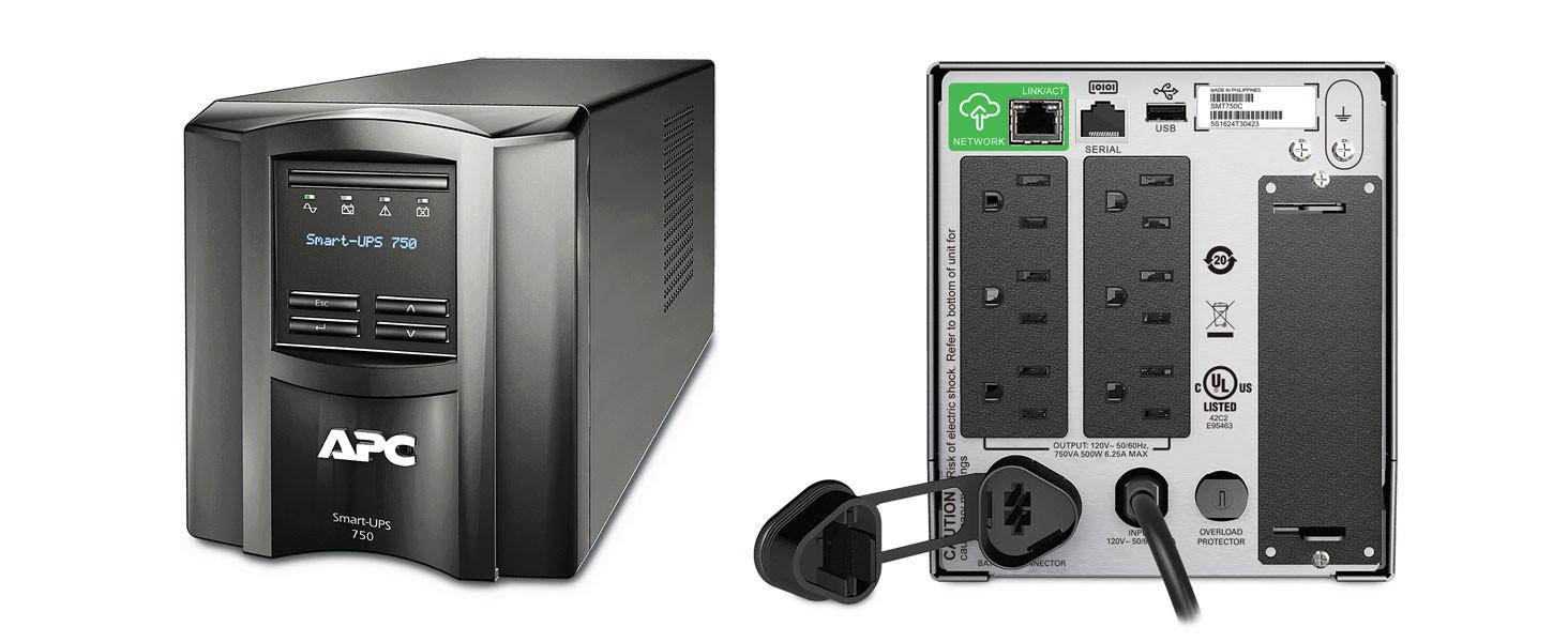 PROVANTAGE: APC SMT750C Smart-UPS 750VA LCD 120V with