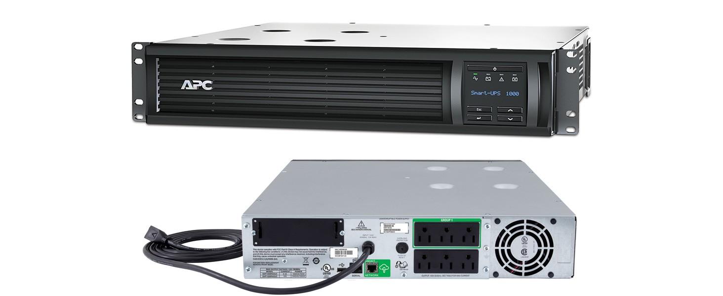 PROVANTAGE: APC SMT1500RM2UC Smart-UPS 1500VA LCD RM 2U 120V