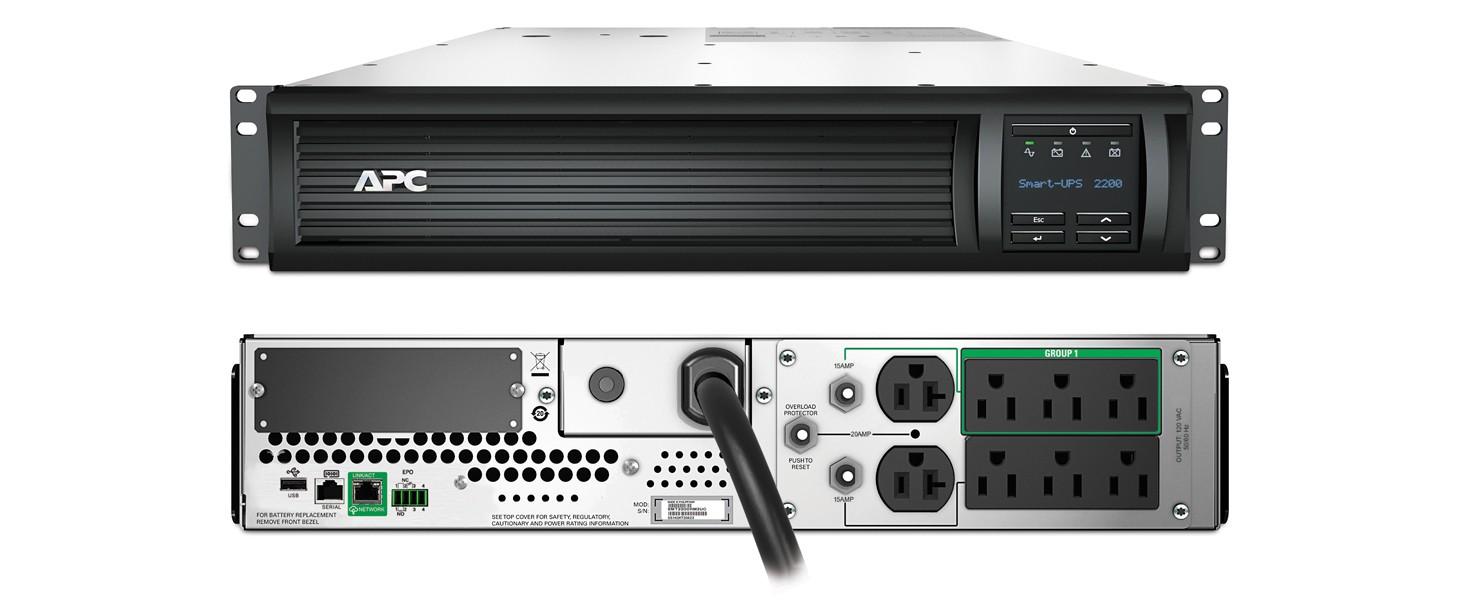 PROVANTAGE: APC SMT2200RM2UC Smart-UPS 2200VA LCD RM 2U 120V