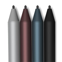 <b>Surface Pen</b></br>Write and draw naturally, with precision ink on one end and a rubber eraser on the other. Sketch, shade, and paint with artistic precision — the 4,096 pressure points respond to the lightest touch.