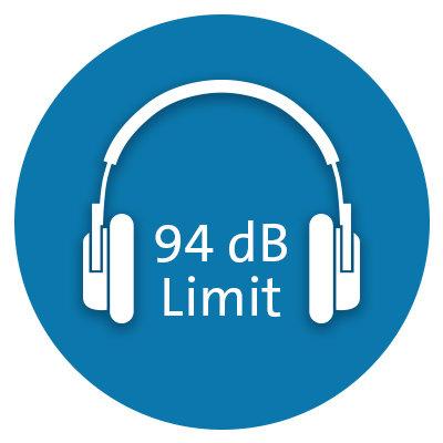 <br></br>Safe Listening Limit