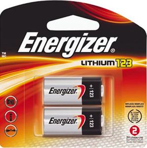 Energizer® 123 Battery