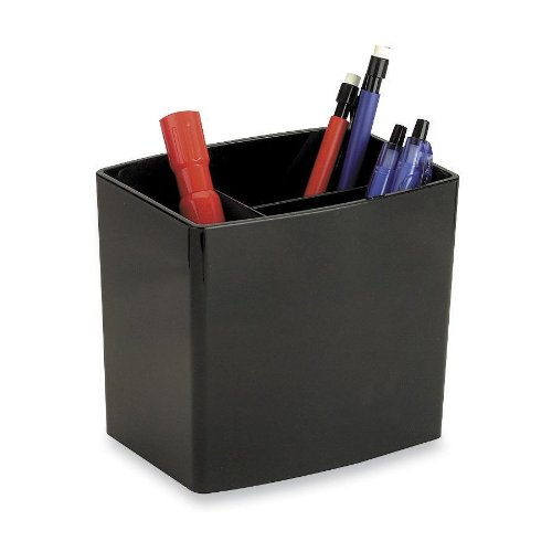 3-compartment pencil cup
