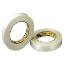 "Filament Tape, 1""x60Yards, Clear"