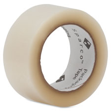 """Packaging Tape Roll, 1.9 mil, 2""""x110 Yards, 6RL/PK, Clear"""