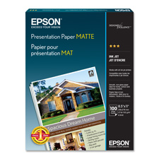 "Presentation Paper,Inkjet,27 lb,8-1/2""x11"",90 GE,100/PK,WE"