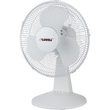 "12"" Oscillating Fan,3 Speeds,13-15/16""x11-1/2""x19-1/2"",LGY"