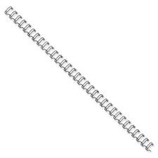 """Double-loop Wire-binding Combs, 3/8"""", 80 Sht Cap., 25/BX, BK"""
