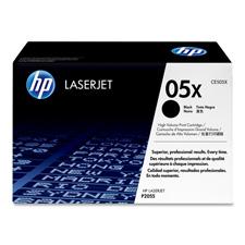 HP 05X High Yield Black Original LaserJet Toner Cartridge (CE505X)