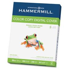 """Color Copy Paper,80lb.,100 Bright,8-1/2""""x11"""",250 SH/RM,White"""