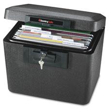 "Security Fire File, 15-1/4""x12-1/8""x13-9/16"", Black"