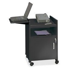 """""""Projector Stand, Compact Mobile, 19-1/2""""""""x20-1/2""""""""x30"""""""", BK"""""""