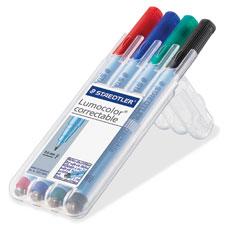 """Correctable Marker Pen, .6mm, Non-Permanent, Ast"""