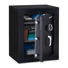 "Executive Fire Safe, 3.4CU.FT, 21-7/10""x19""x27-4/5"", Black"