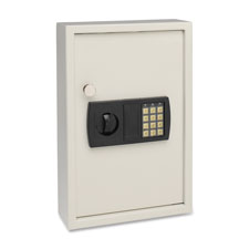 """Electronic Key Safe, 11-7/8""""x4""""x17-3/4"""", 48 Key Cap, WE"""