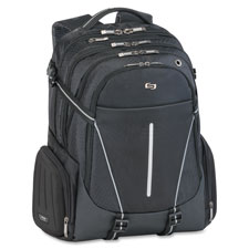 """Laptop Backpack, 12-1/2""""x6""""x19"""", Black"""