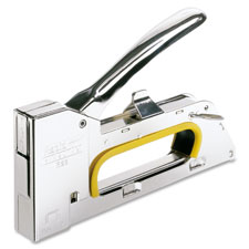 """Staple Gun R23, Uses No.19 Staples, Chrome"""