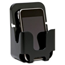 """Cubicle Cellphone Holder, Recycled, Black"""
