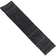 """Whiteboard Eraser Refill Pads, f/Big E, Charcoal Black"""