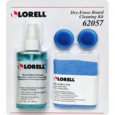 """Dry-Erase Cleaner Kit, Non-Toxic, 50 Wipes"""