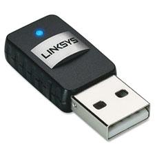 """""""Wireless Mini USB Adapter, AC, Black"""""""