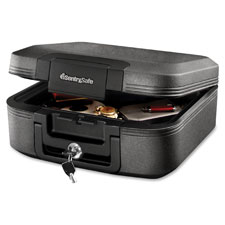 """Water-Resistant Fire Chest, 15-2/5""""x14-3/10""""x6-3/5"""", CGY"""