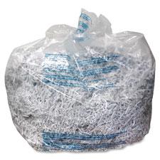"""Plastic Shredder Bags, 35-60Gal, 100/BX"""