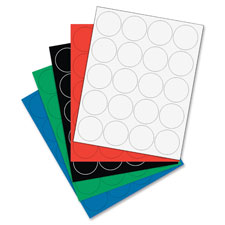 """Magnetic Color Coding Dots, 12/BG, Green"""