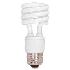"""CFL Spiral Bulb T2, 13W, 880 Lumens, White"""