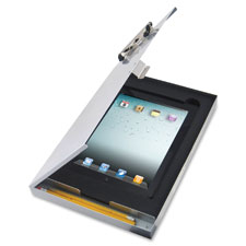 """IPad Air Clipboard, 9-1/2""""x13-1/2"""", Aluminum"""