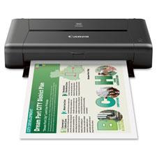 """Photo Printer, 9.0PPM, 50Sht Cap, 12""""x7""""x2-1/2"""", BK"""