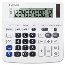 """Desktop Calculator, 12-Digit, White"""