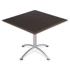 """""""ILand Table, 36"""""""" Square/42"""""""" H, Gray"""""""