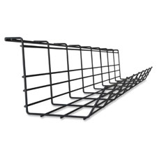 """""""Wireform Cable Tray, 5-3/4""""""""x36-3/5""""""""x4-1/2"""""""", Black"""""""