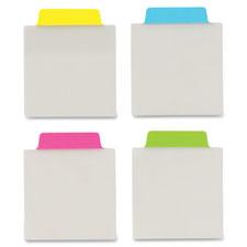 """Ultra Note Tabs, Self Adh, 3""""x3-1/2"""" 12/PK, Neon"""