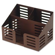 """Desktop Organzier, 4-1/2""""x7""""x4-4/5"""", Bronze"""