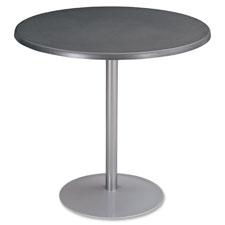 """""""Entourage Tabletop 32"""""""" Round, Silver"""""""