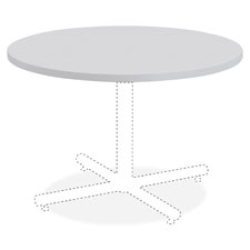 """""""Round Table Top, 36"""""""", Light Gray"""""""