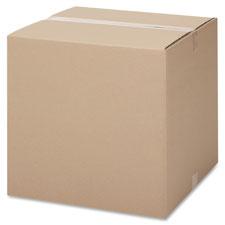 """""""Shipping Cartons, 12""""""""x12""""""""x12"""""""", 25/PK, Kraft"""""""