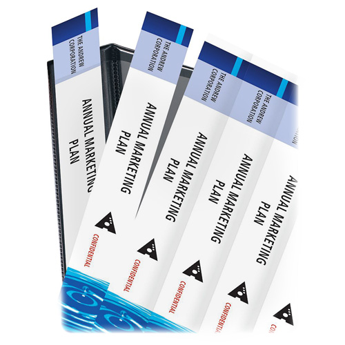 Spine Inserts & Labels