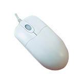 WASHABLE MOUSE SCROLL WHEEL WHITE