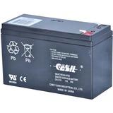 BATTERY-12VDC/7AH; FOR USE W/POWER SUPPL