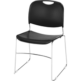 CHAIR; STACK; WIRE FR; BLK
