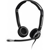 Overhead, bi headset - Large ear caps